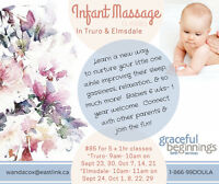 Infant Massage classes at Enchanted Forest in Truro