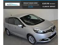 2014 64 RENAULT GRAND SCENIC 1.5 DYNAMIQUE TOMTOM ENERGY DCI S/S 5D 110 BHP DIES