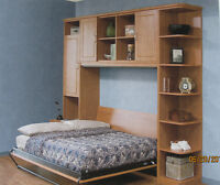 FURNITURE to save space...MurphyBeds/cabs/wardrobes/offices