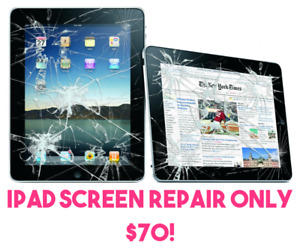 ipad screen repair, best price in town 519-729-1372