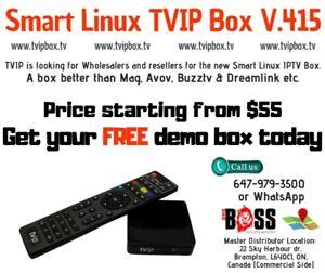 ** Iptv Smart TVIP IPTV Box **