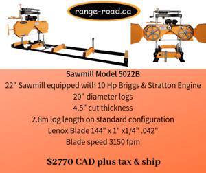 """Range Road Sawmills 22""""-29"""" Options"""