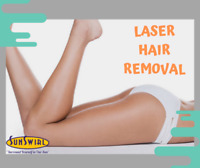Laser Hair Removal - Non-Invasive Treatment - Sunswirl.ca