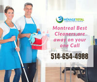 Professional Cleaning Services Company Montreal