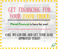 Get your FOOD TRUCK TODAY! Bad Credit? No Problem