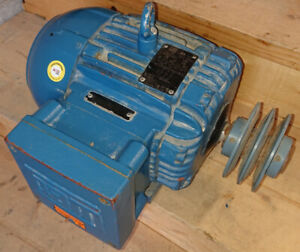 WEG Severe Duty 3 Phase Motors x 2, 575V, 60Hz