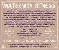 Prenatal & Postpartum Exercises Classes • Childcare included