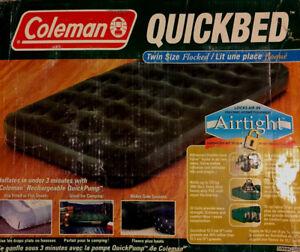 Coleman twin air mattress..