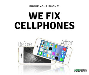 Broke your phone? Contact us today for repair.