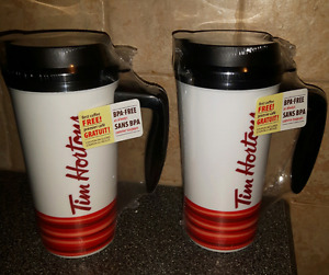 2 Brand New in Packaging Travel Mugs $5 each