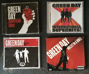 Green Day - American Idiot, Bullet In A Bible, Int'l Superhits
