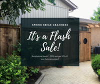 FLASH SALE - Book your fence or deck and $AVE!! L@@K!