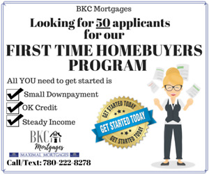 WANTED: FIRST TIME HOMEBUYERS