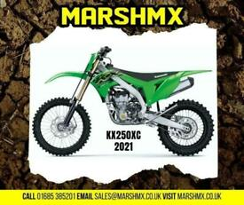 Kawasaki KX 250 XC (Cross Country) 2021 Model - now reduced to 6995