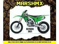 Kawasaki KX 250 XC (Cross Country) 2021 Model - Nil Deposit Finance 169/Mth