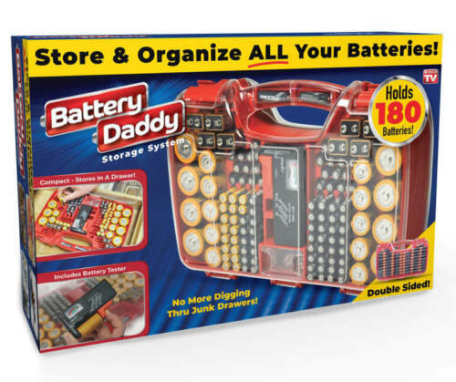 Battery Daddy Storage System By As Seen On TV