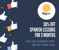 SPANISH LESSONS WITH NATIVE SPEAKER