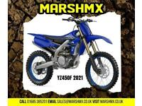 Yamaha YZ450F 2021 Model Uk Bike 6 mth Warranty-Nil Dep Finance from 178/Mth