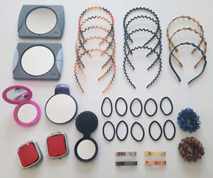 hair bands & hand mirrors new