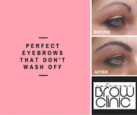 Get the LOOK of brow hair even where there is none