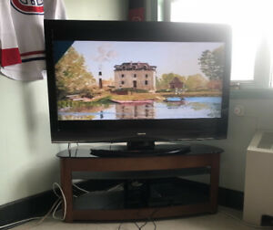55 inch Toshiba TV and TV Stand