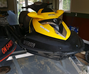 2007 Seadoo RXT 4-Tec supercharged. New REBUILT Supercharger!