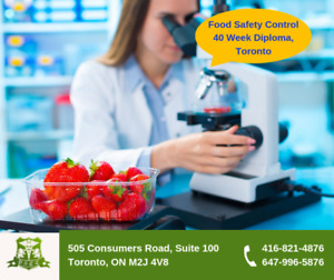 Food Safety & Quality, Full-time Program, Starts June 3, Toronto