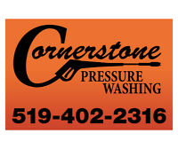 Cornerstone Pressure Washing for Ontario