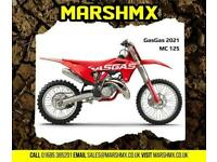 Gas Gas MC 125 2021 Model-Nil Deposit Finance Available from 148/Mth