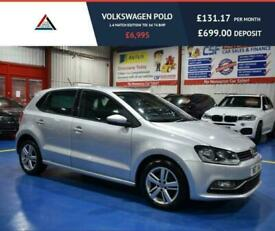 image for 2017 17 VOLKSWAGEN POLO 1.4 MATCH EDITION TDI 5D 74 BHP DIESEL