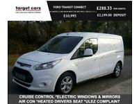 2016 Ford Transit Connect 1.5TDCI 240 LIMITED L2 LWB VAN IN WHITE TOP SPEC WITH