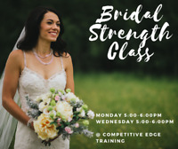 Bridal Strength Training class - ONLY 4 spots left!