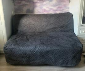 IKEA LYCKSELE HÅVET FOLDING DOUBLE BED