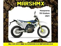 Husqvrana 701 Enduro 2021 Model - Nil Deposit Finance Available