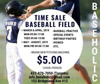 Baseball Field Rent (Indoor)
