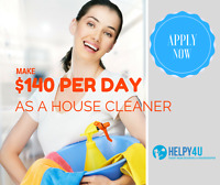 Residential House Cleaner