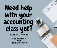 Do you need help with business and accounting course?