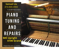 PIANO TUNING AND REPAIR SERVICES