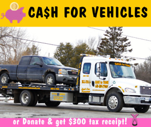 ▪️We Buy Junk Scrap Cars   CASH + FREE REMOVAL or Donate Vehicle