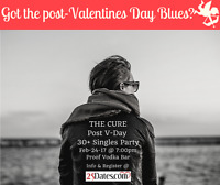 Post Valentines Day 30+ Singles Party!
