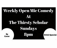 Weekly Open Mic Comedy