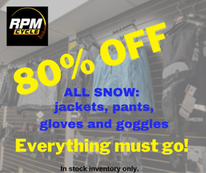 SALE 80% off SNOW clothes RPM Cycle