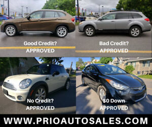 Auto finance any credit approved, Good, Bad, No Credit $0 Down