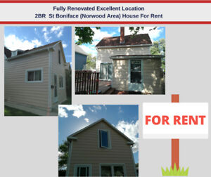 Freshly Renovated St. Boniface (Norwood) Excellent Location !