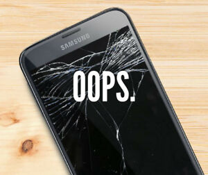 WOW!! Is that a cracked LCD on your phone? CALL US NOW