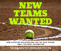 Slo-Pitch Teams Wanted