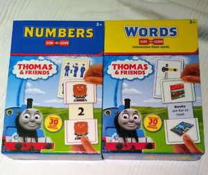 Thomas and Friends number and words interactive flashcards
