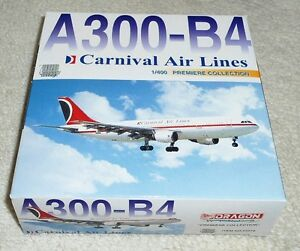Dragon Wings 1/400 AIRBUS A300-B4 Carnival Air Lines
