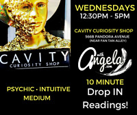Drop In Readings with Angela- Psychic Intuitive Medium