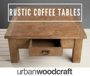 UP TO 50% OFF - Solid Rustic Coffee Tables